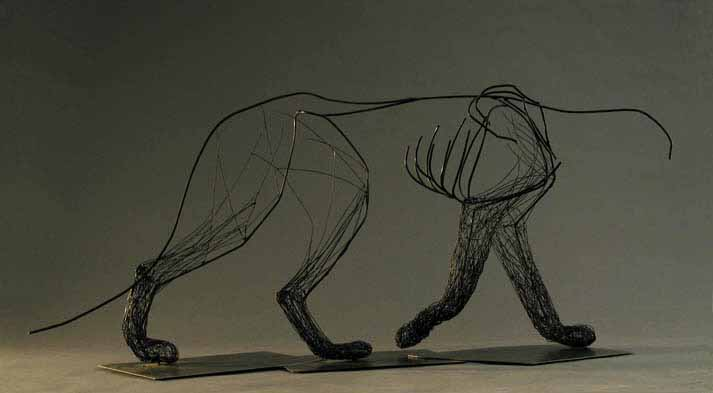 Wire Animal Sculptures | Amy Malouf Sculpture