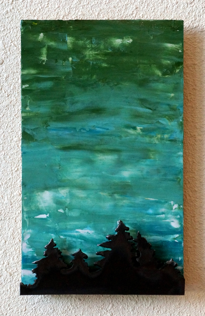 """Green and Blue Sky"" Amy Malouf $50"