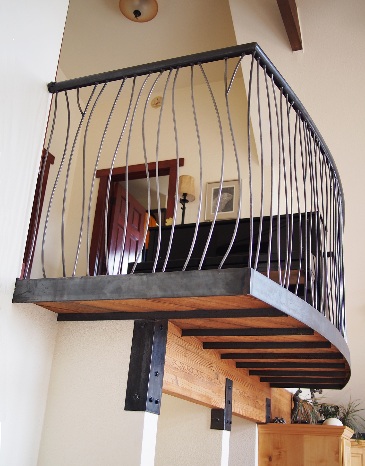 Cantilever Railing Amy Malouf